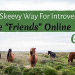 "The Non-Skeevy Way For Introverts To Make ""Friends"" Online"