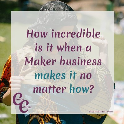 Makers need to know 8
