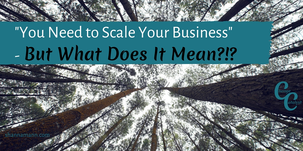 What is Scaling